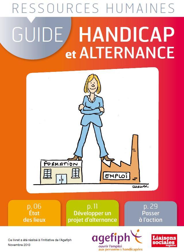 Un Guide Handicap et Alternance proposé par Liaisons sociales et l'Agefiph