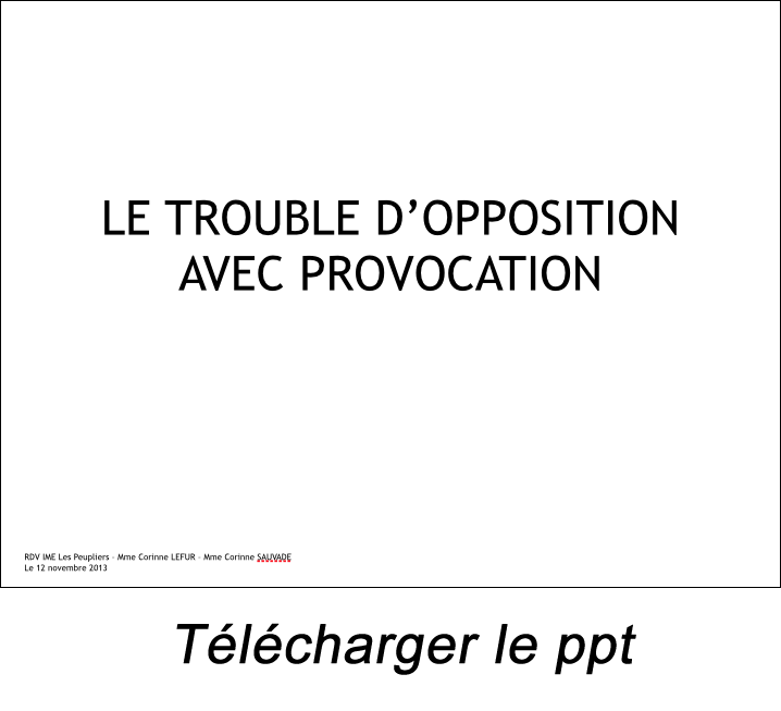 presentation leonard Vannetzel troubles du comportement
